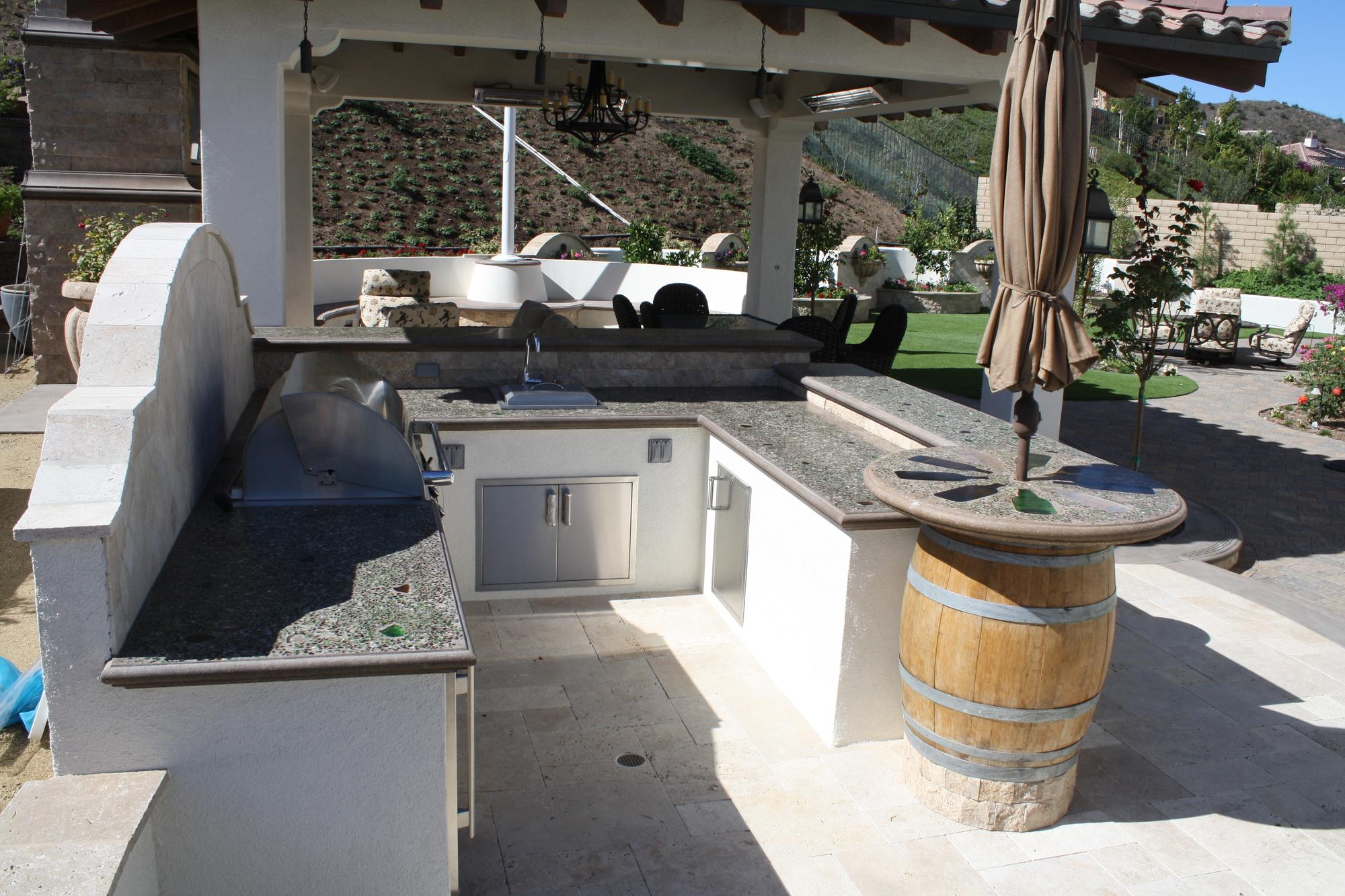 Wine Bottle Barbecue Concrete Construction Magazine