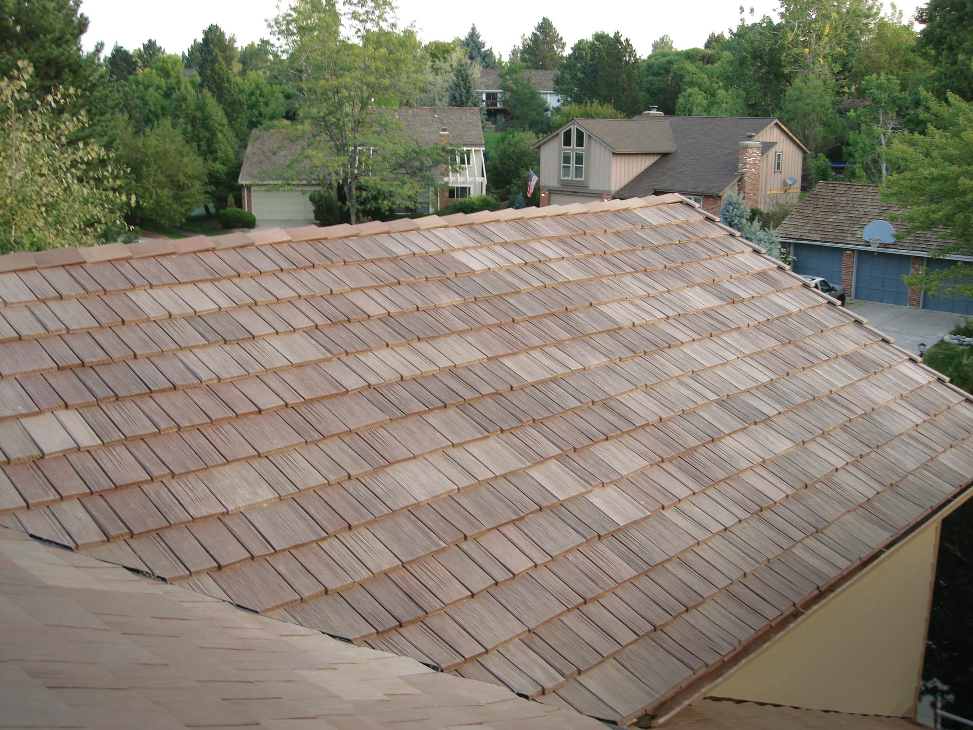 What I Like Davinci Roofscapes Bellaforte Shake