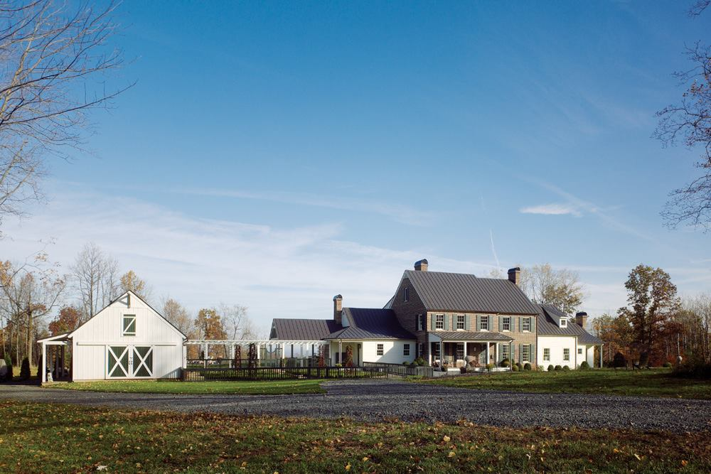 Hunt Country Hilltop House Fauquier County Va Custom
