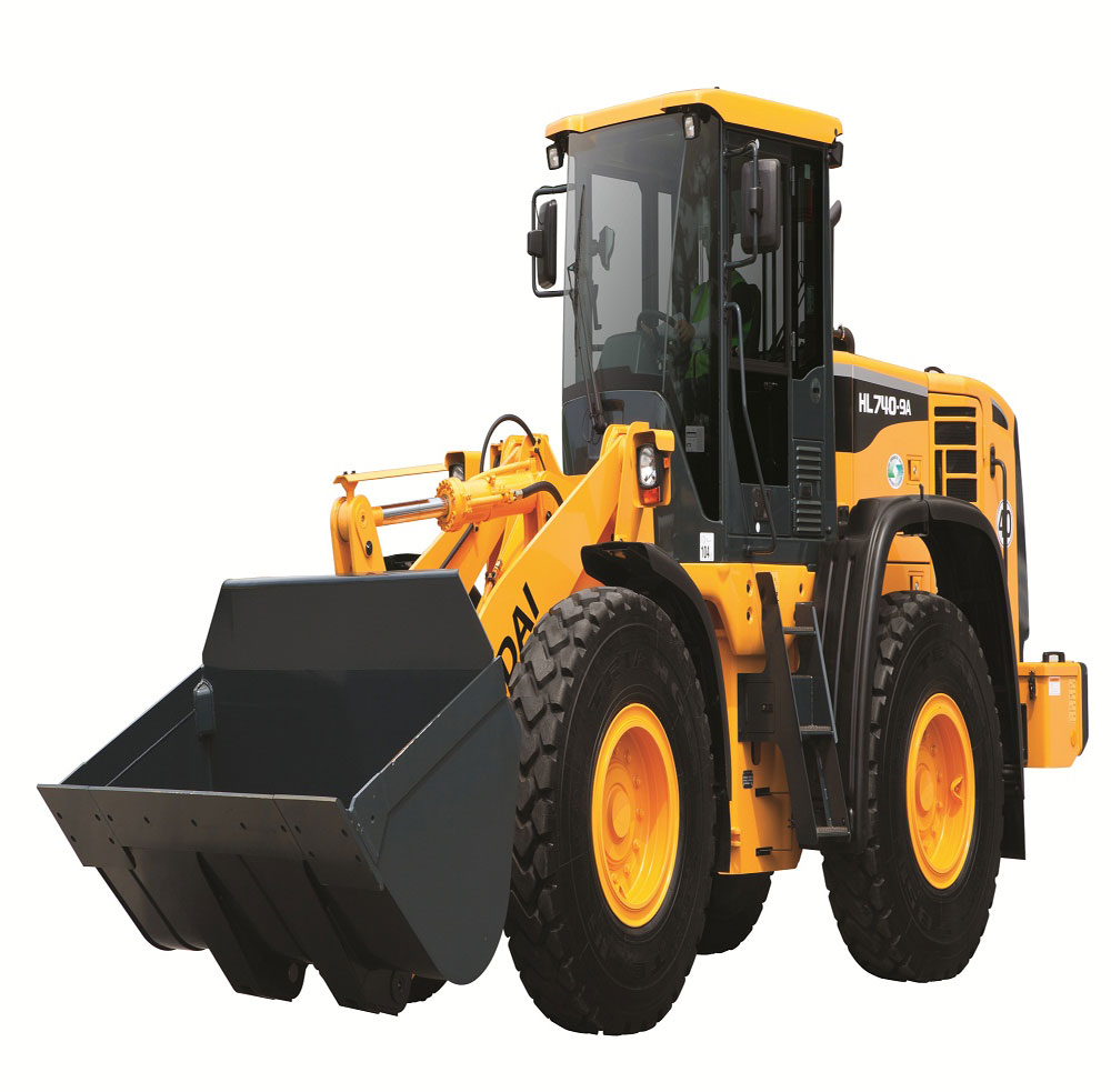 HL740-9A wheel loader from Hyundai| Public Works Magazine | Fleets, Trucks  and Accessories, Filters, Hydraulics, Heavy Equipment, Jobsite Equipment,  ...