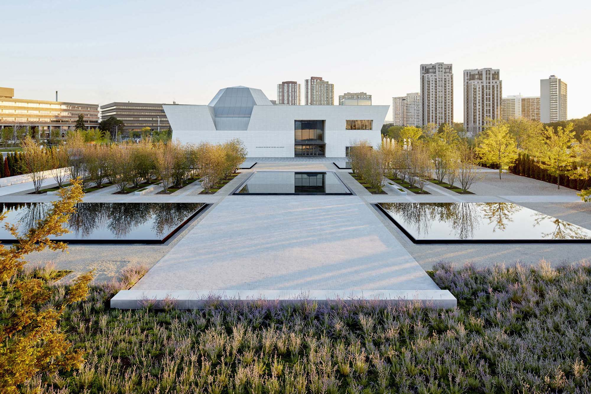 Aga khan park architect magazine vladimir djurovic for Landscape design canada