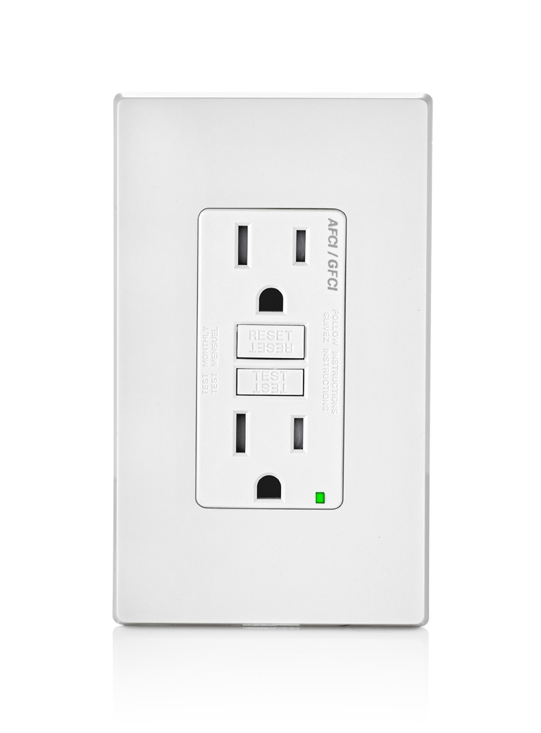 Leviton Combines Arc And Ground Fault Protection In Smartlockpro Wiring A Gfci Receptacle Jlc Online Electrical Mfg Co