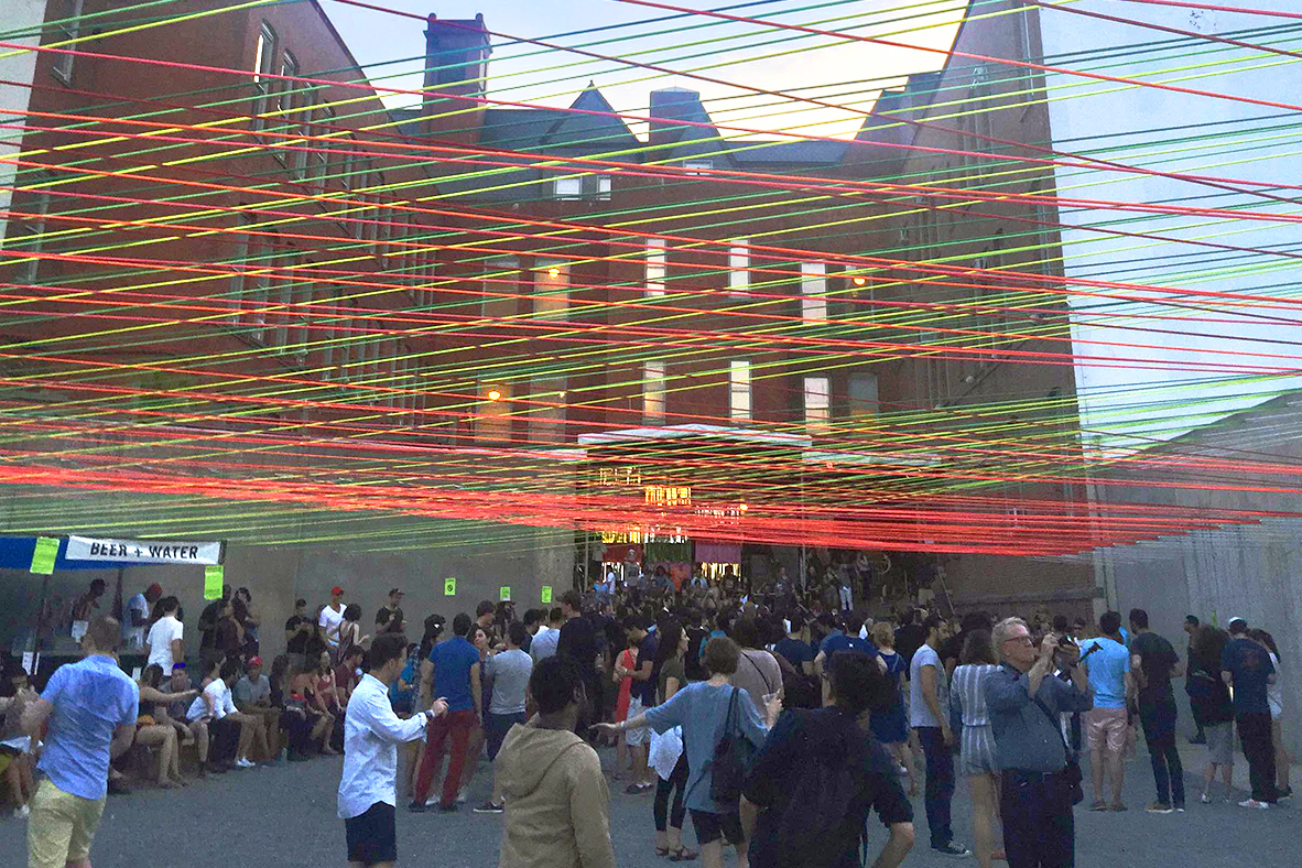Moma Ps1 Kicks Off Summer Concerts Under Neon Canopy