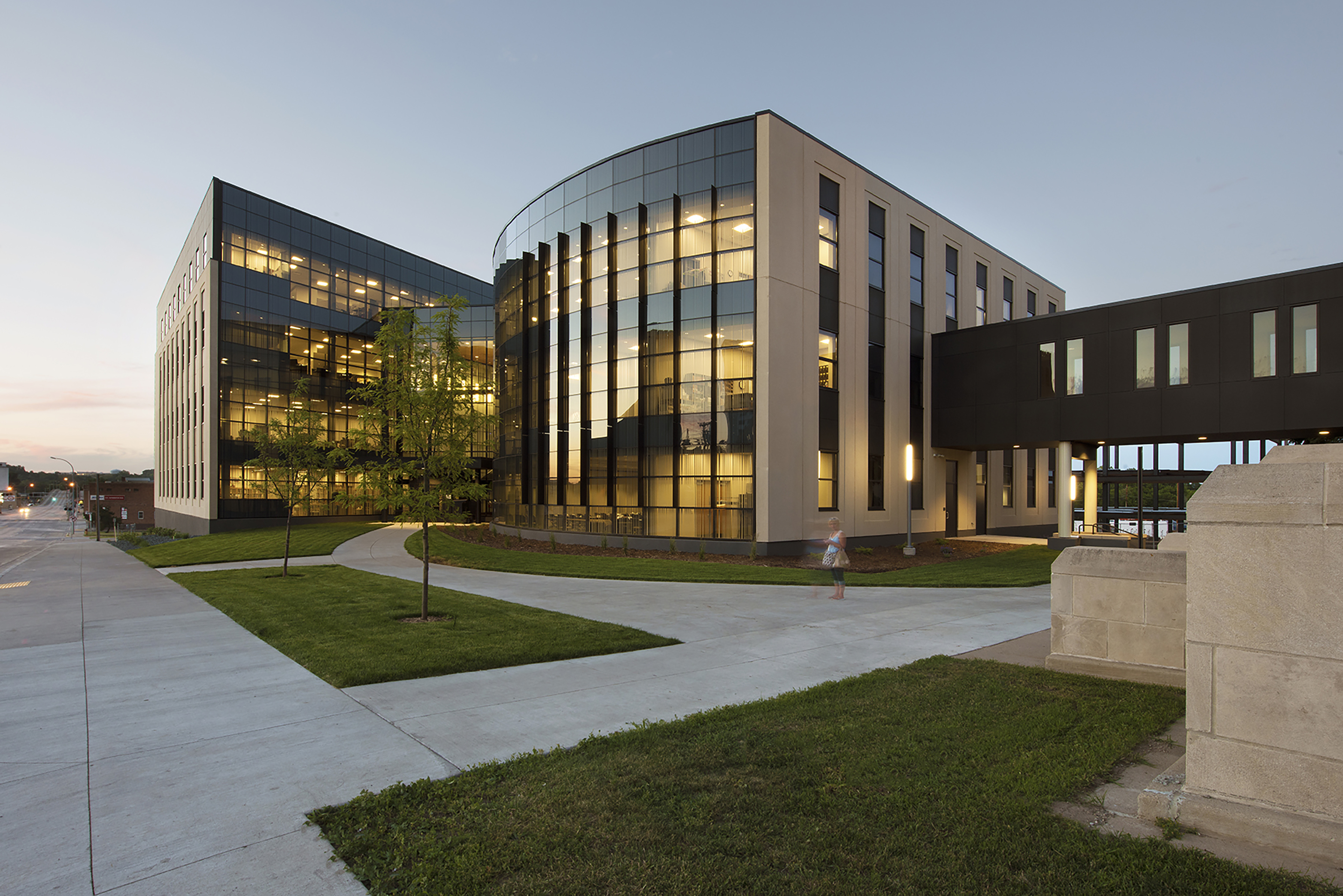 Ward county office building architect magazine jlg for Office building architecture
