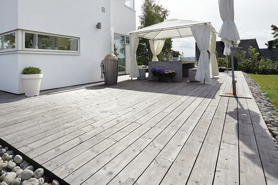 Kebony Treated Wood Builder Magazine Decking Wood