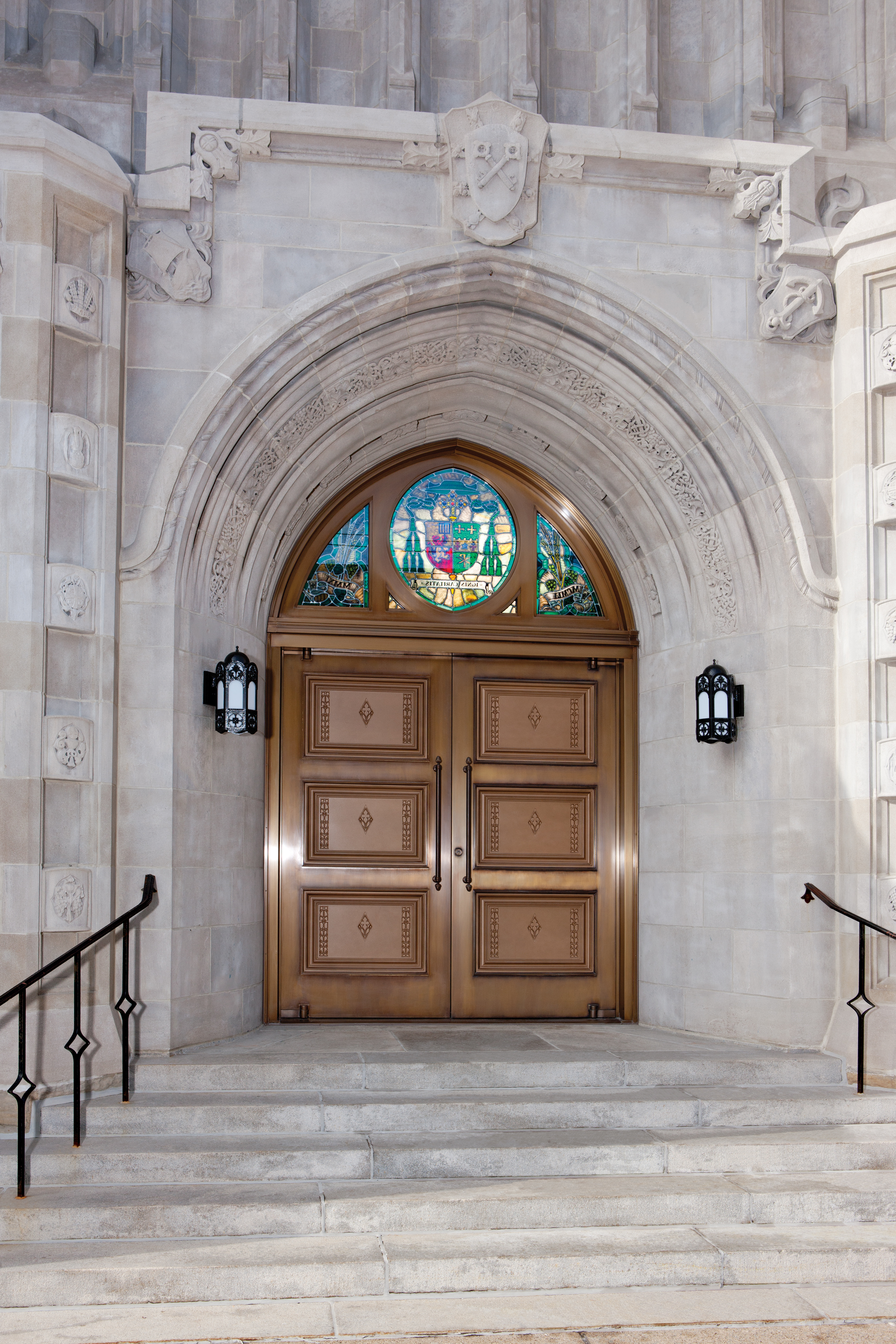 Blessed Sacrament Cathedral Architect Magazine Celli