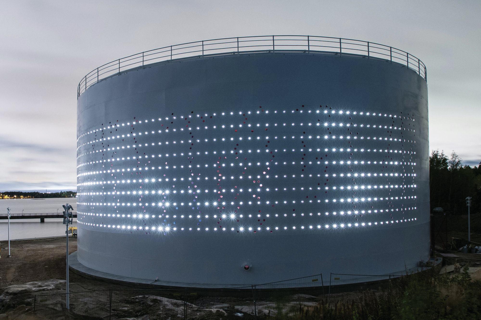Al design awards silo helsinki architectural lighting