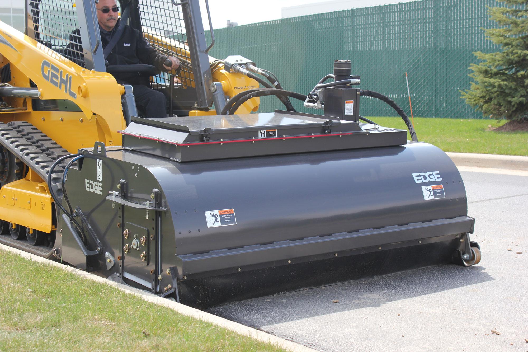 Waterless Dust Abatement System Concrete Construction