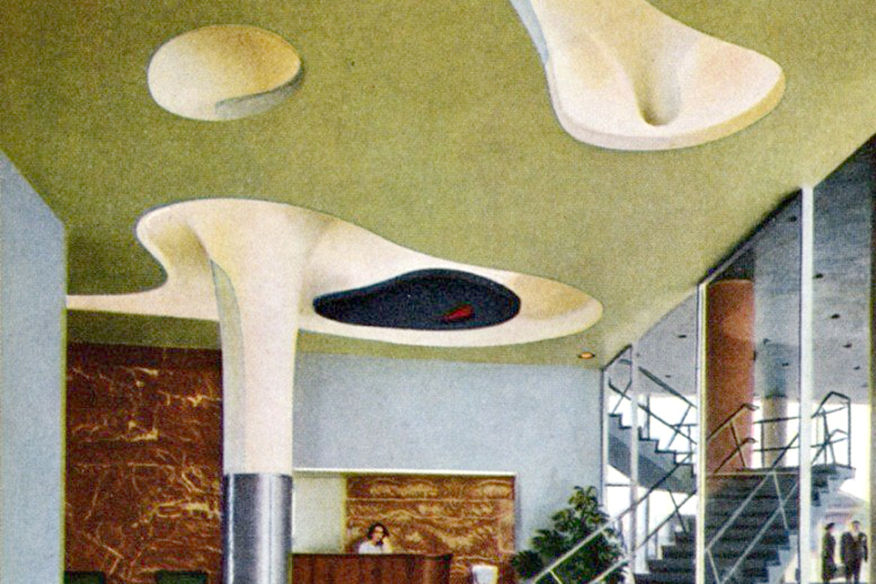 U Haul Restores 1940s Isamu Noguchi Designed Ceiling In St