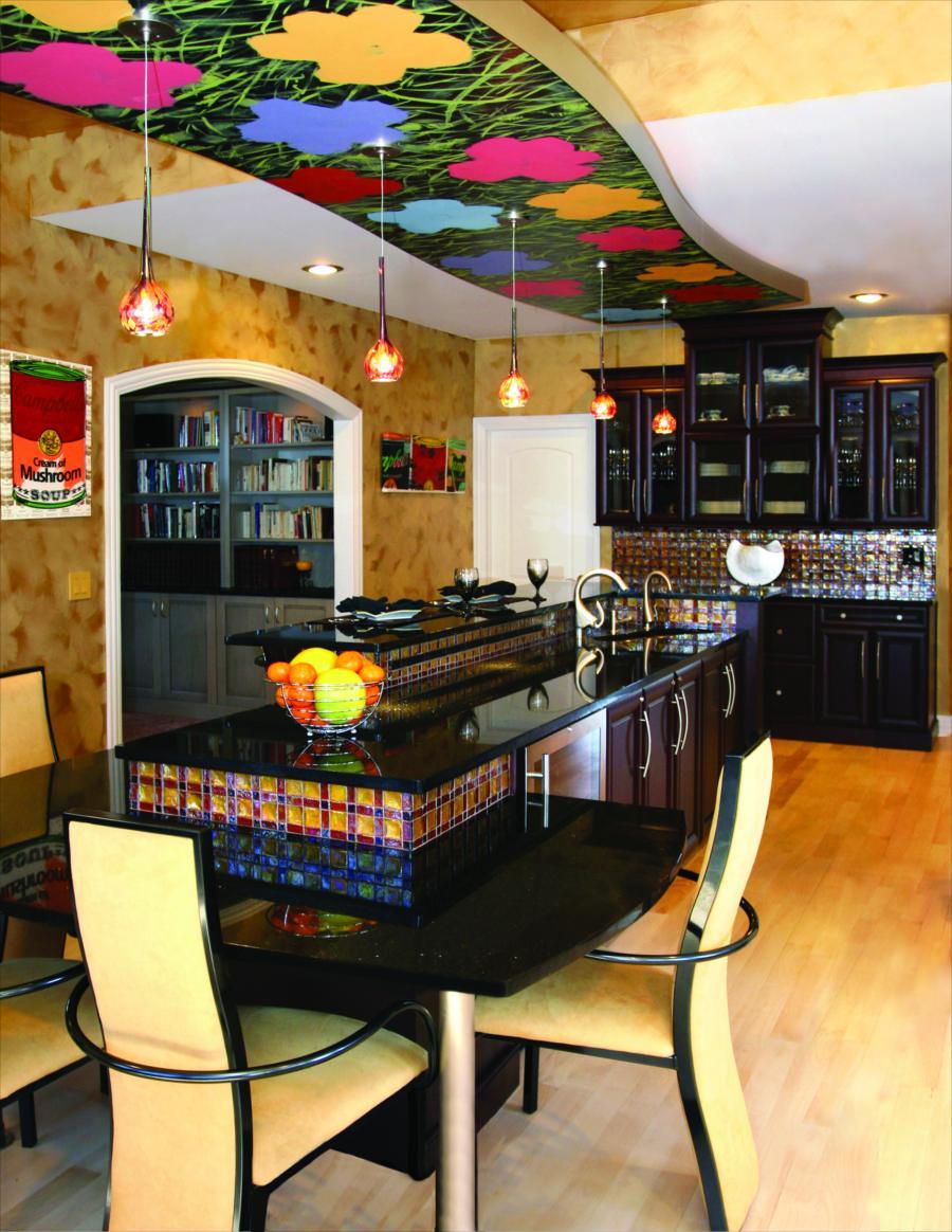 Kitchen Island Soffit Design