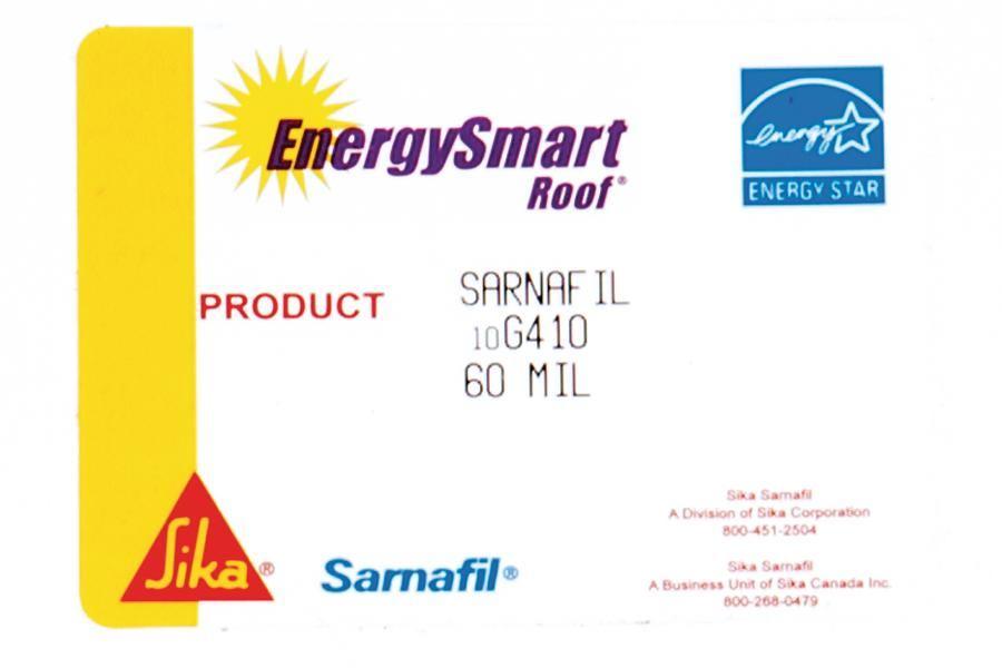 Sika Sarnafil EnergySmart   Architect Magazine   Roofing