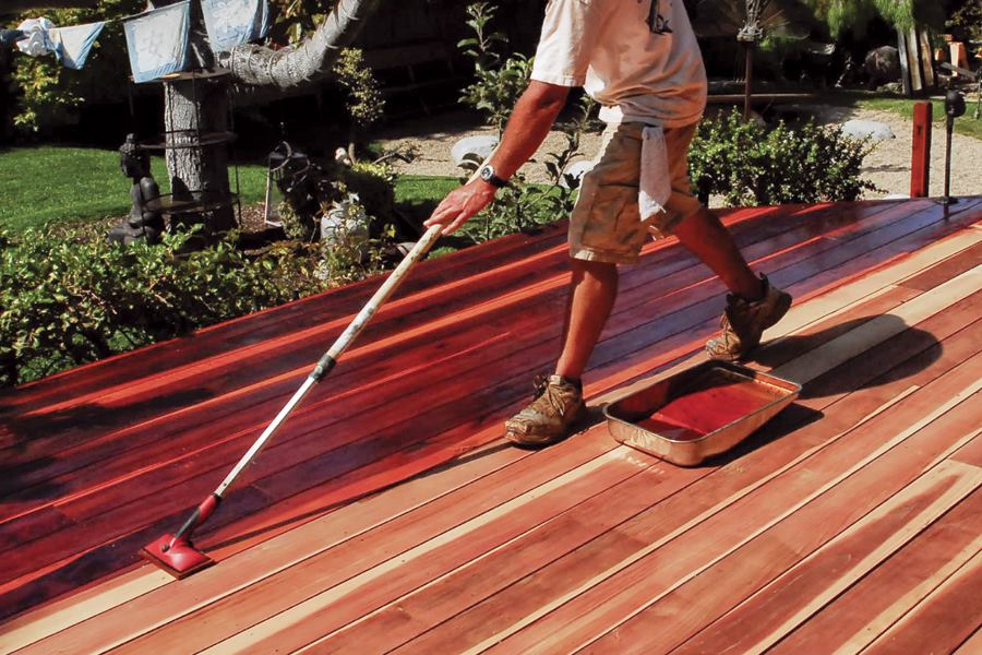 Finishes For Wood Decks Professional Deck Builder