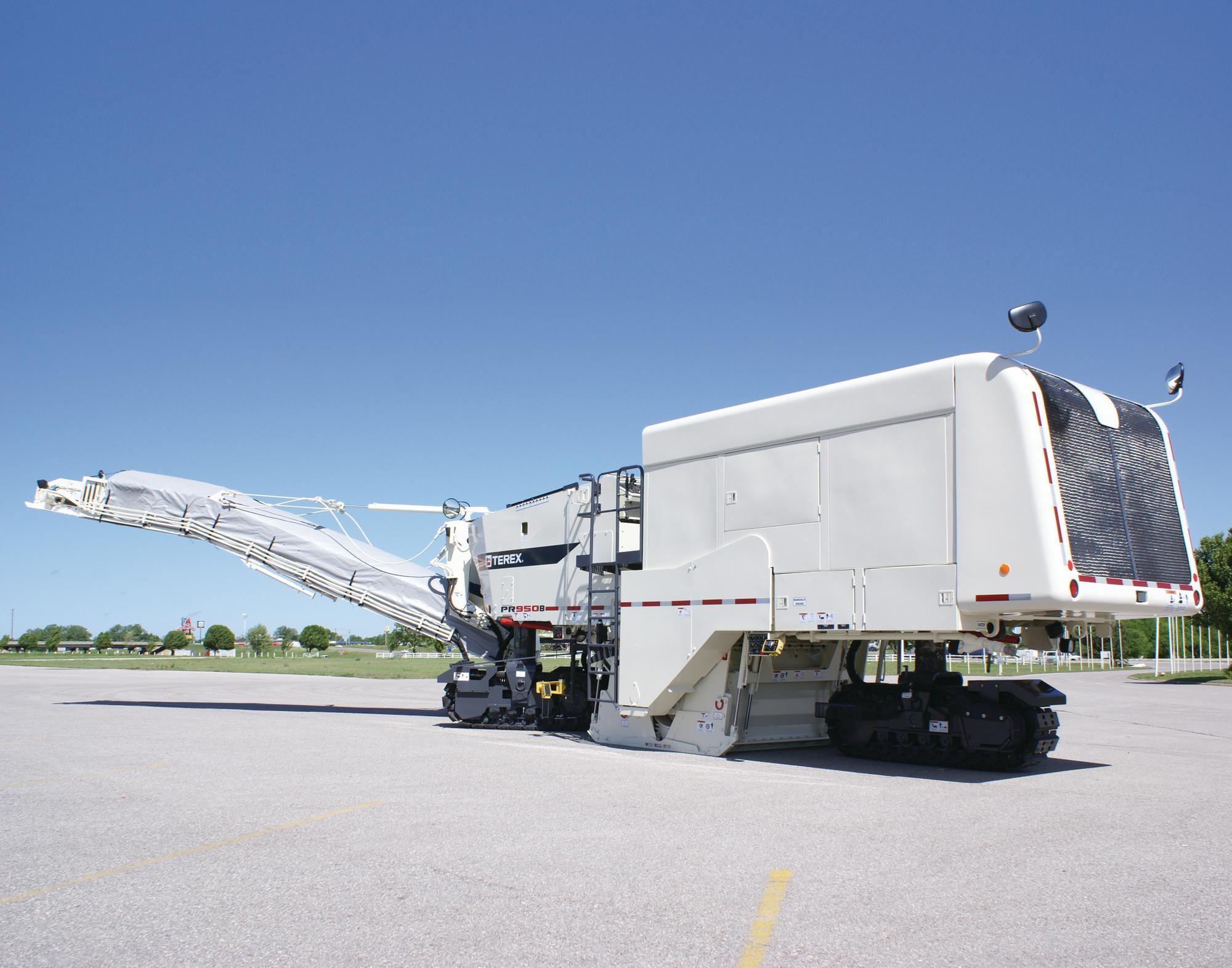 Terex Pr950b Milling Machine Concrete Construction
