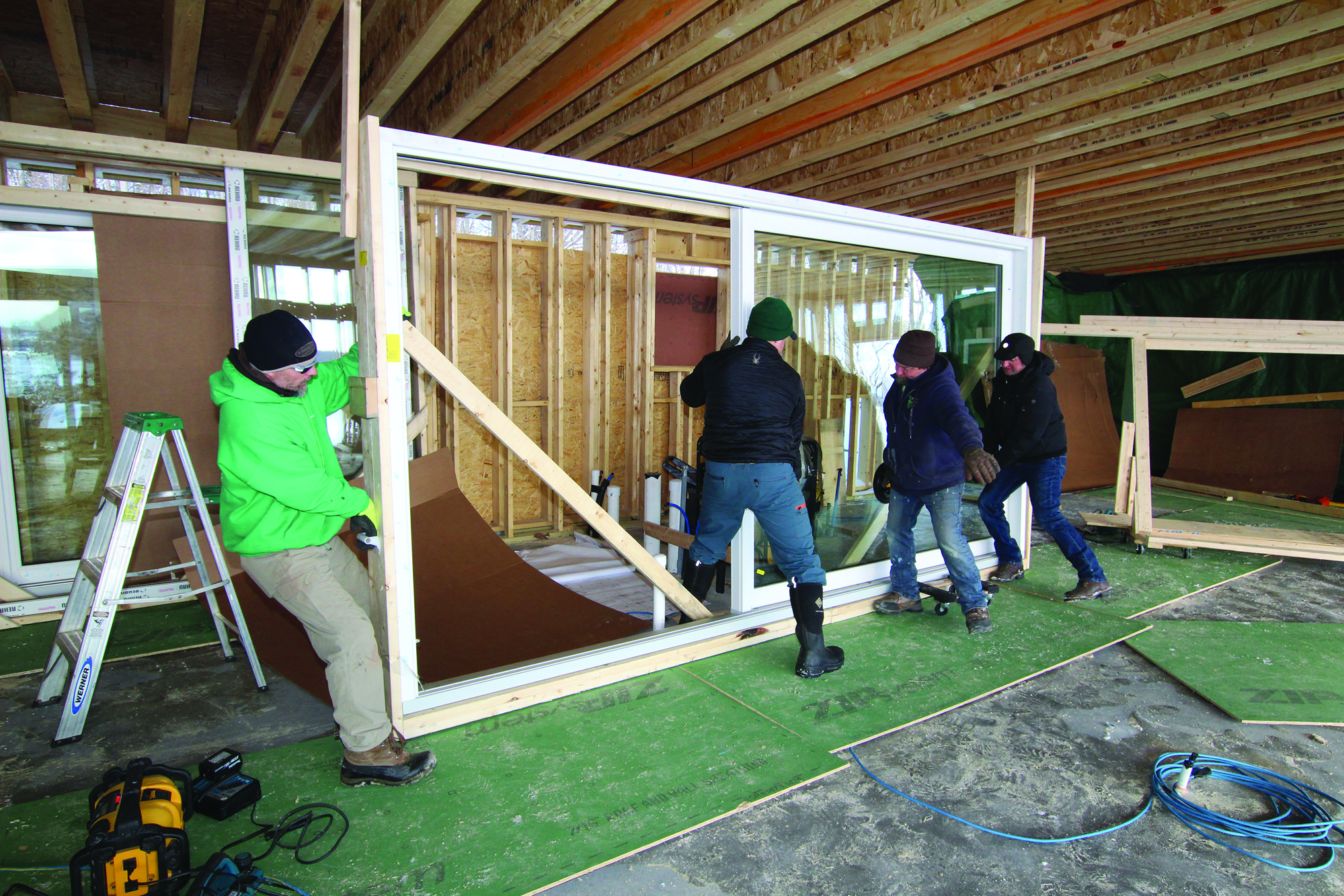 Installing Lift and Slide Doors JLC line