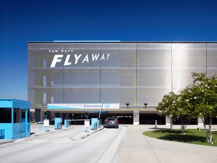 Van Nuys Flyaway Parking Garage Architect Magazine