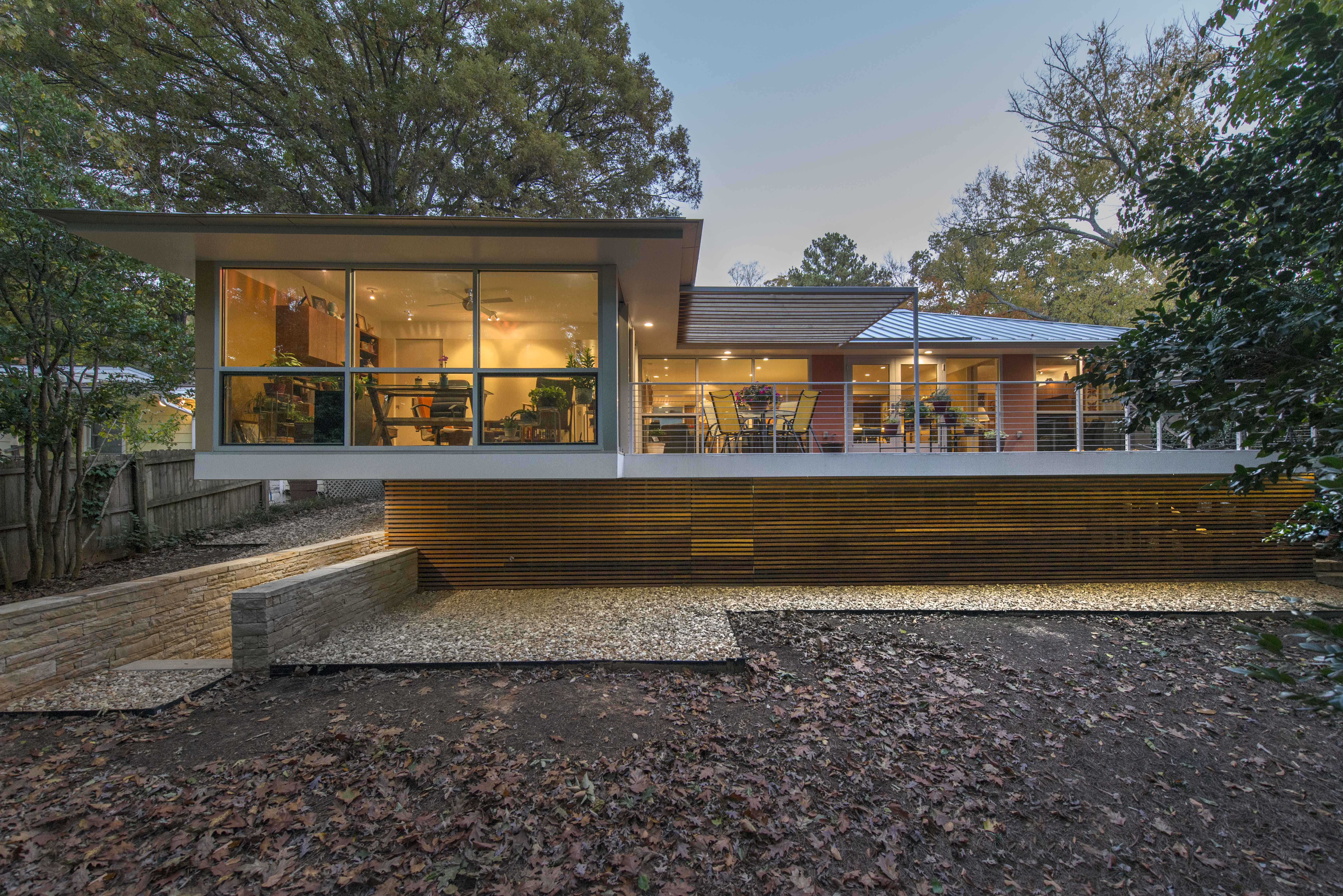 Ranch style redux residential architect robert cain for Residential architects atlanta ga