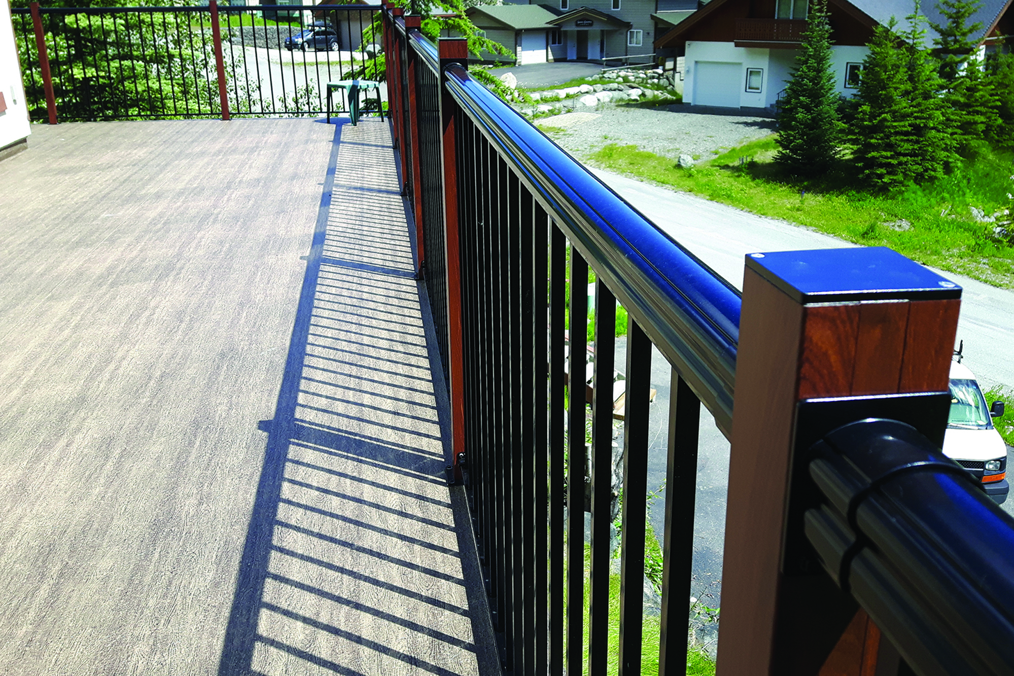 Walkable Vinyl Membranes Professional Deck Builder Roof Decking Decking