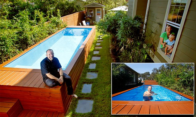 Architecht Makes Swimming Pool From Dumpster
