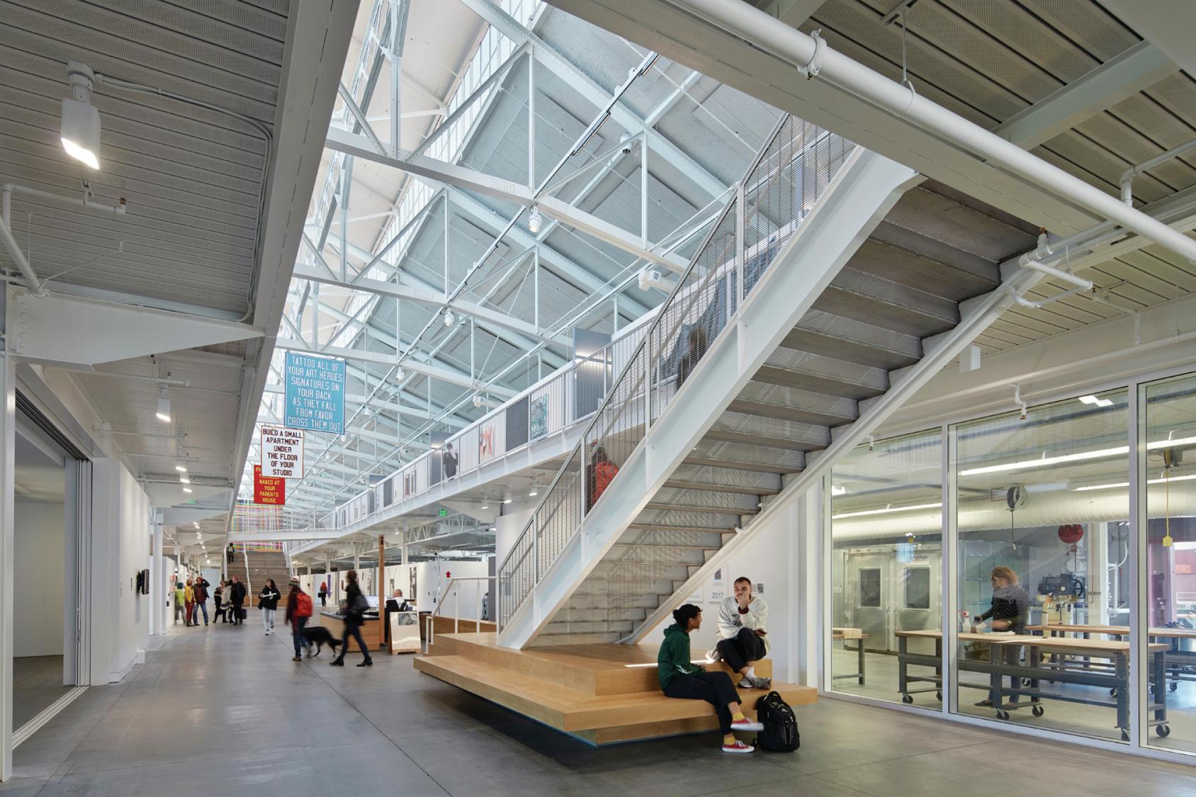 San Francisco Art Institute By Leddy Maytum Stacy Architects