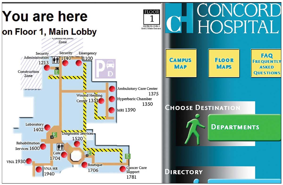Here2There wayfinding and directory software from Global Software