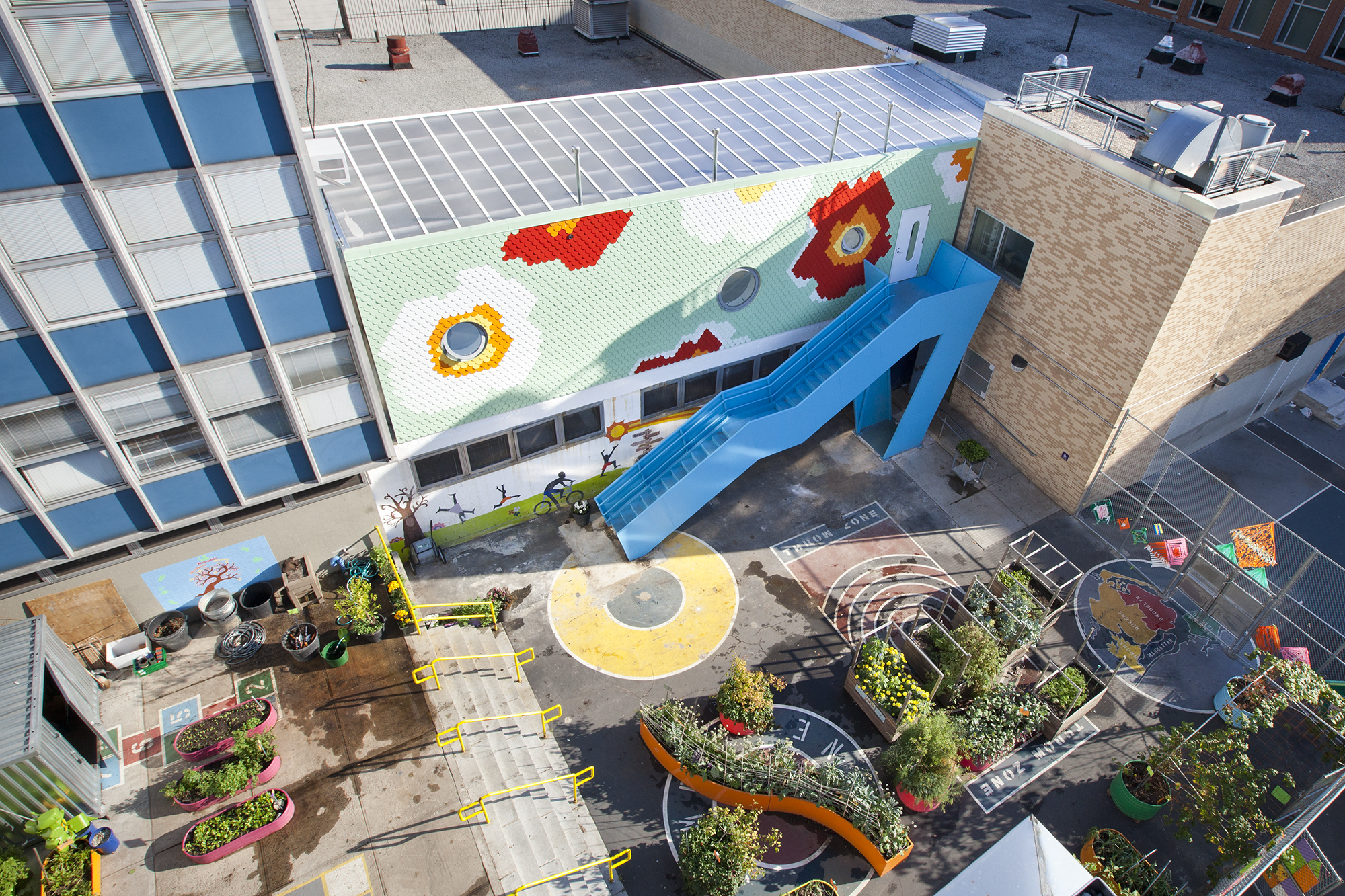 Edible Schoolyard Nyc At Ps7 Architect Magazine Work