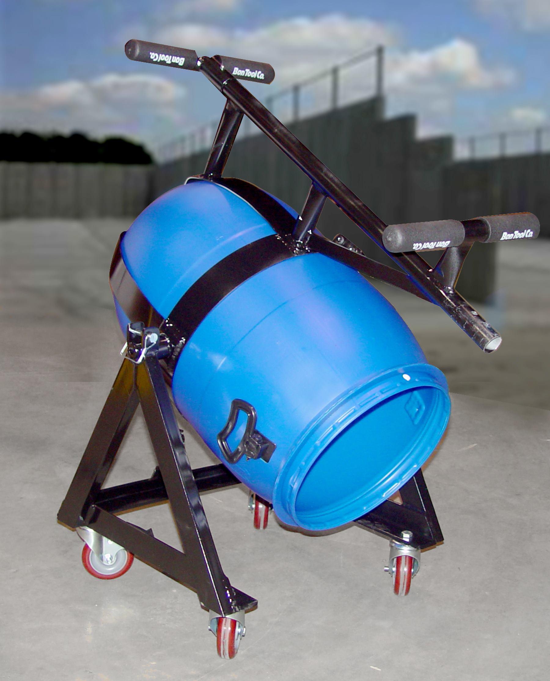 Bon Tool Co Mixing Amp Pouring Barrel Transporter Concrete