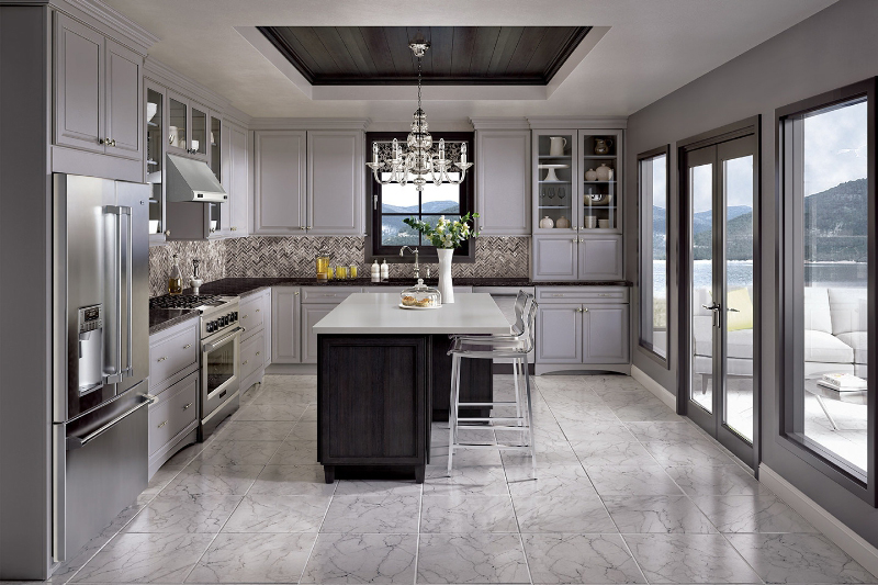 Genial Use Gray As Your New Neutral With Merillatu0027s Shale Finish | JLC Online |  Cabinets, Kitchen, Interiors, Paints, Merillat