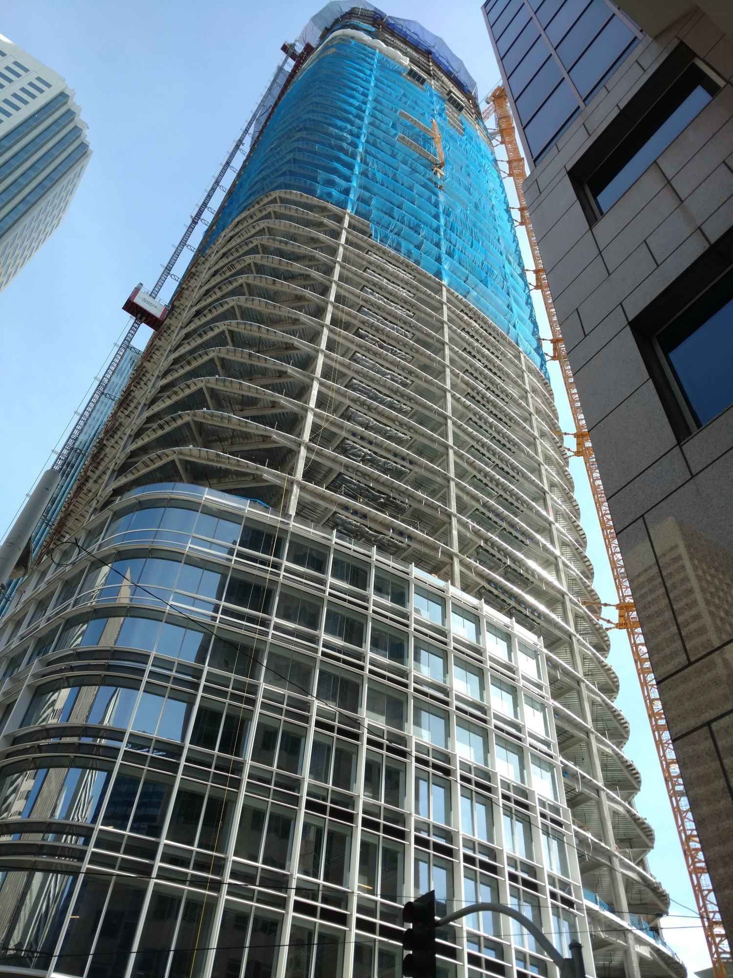 Salesforce Tower Concrete Construction Magazine