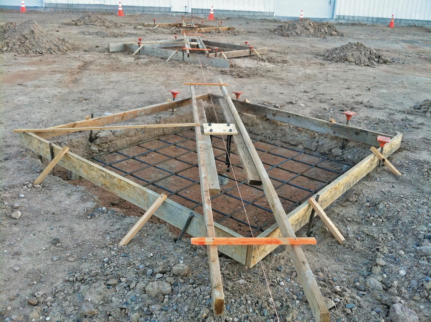 Residential Site Layout Concrete Construction Magazine