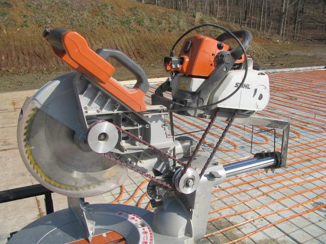 Hacking A Ridgid Miter Saw Tools Of The Trade