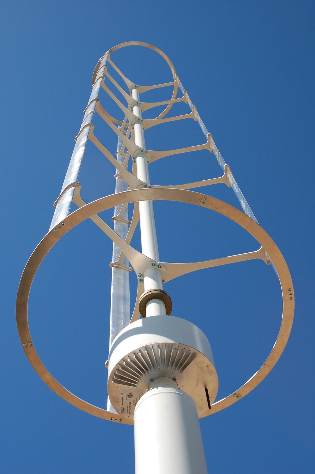 Residential Wind Turbine From Windspire Ecobuilding Pulse