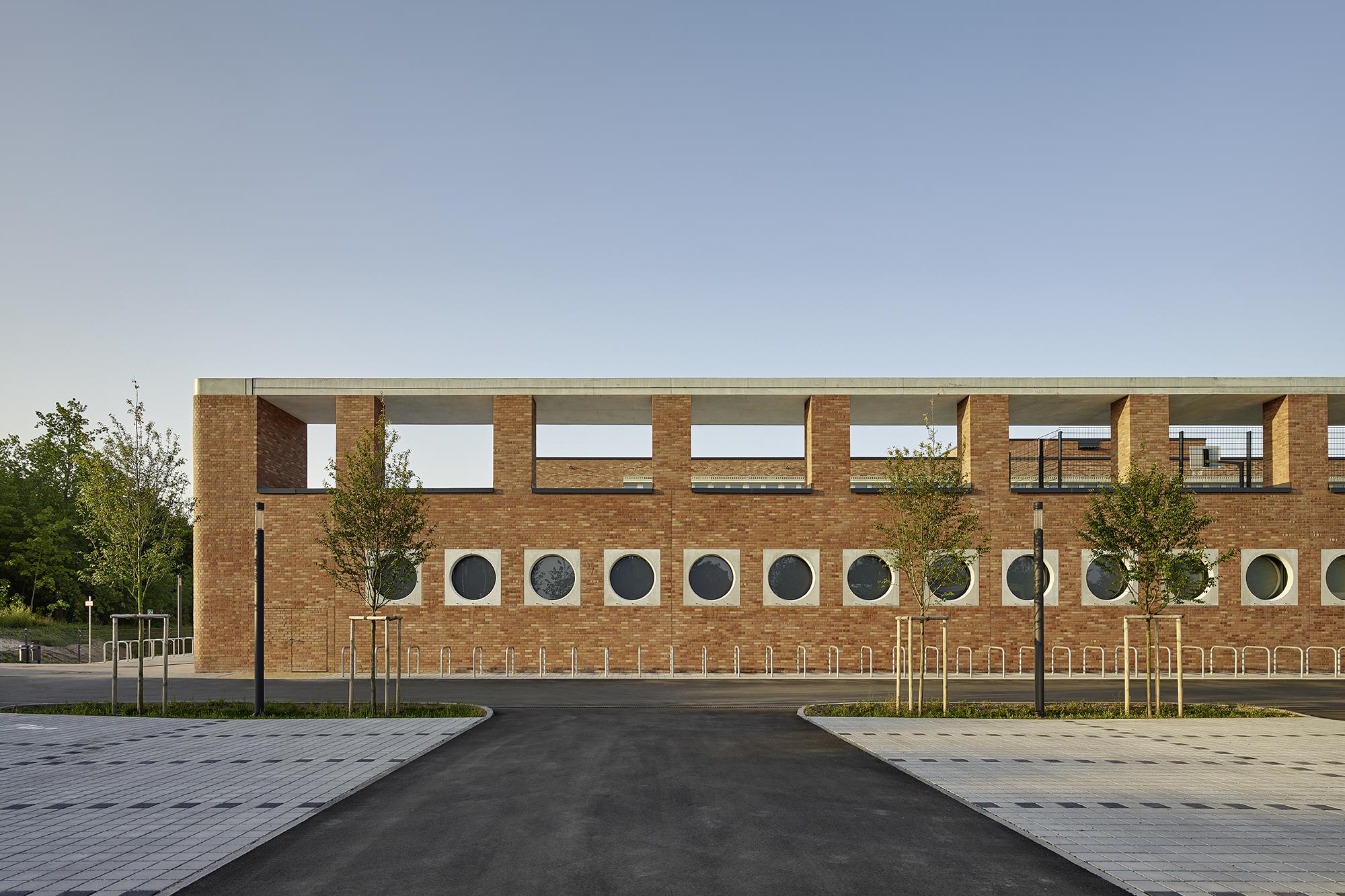 Johann Pachelbel Realschule/Staatliche Fachoberschule II, By Lederer  Ragnarsdóttir Oei Architekten | Architect Magazine | Lederer Ragnarsdóttir  Oei ...