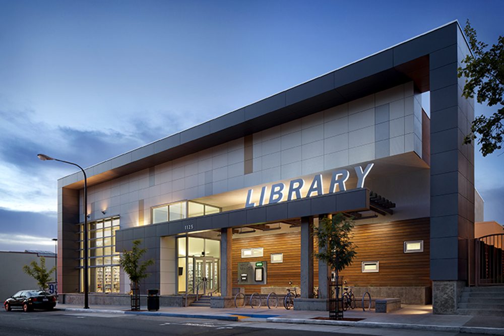 West Branch Of The Berkeley Public Library Architect Magazine Harley Ellis Devereaux