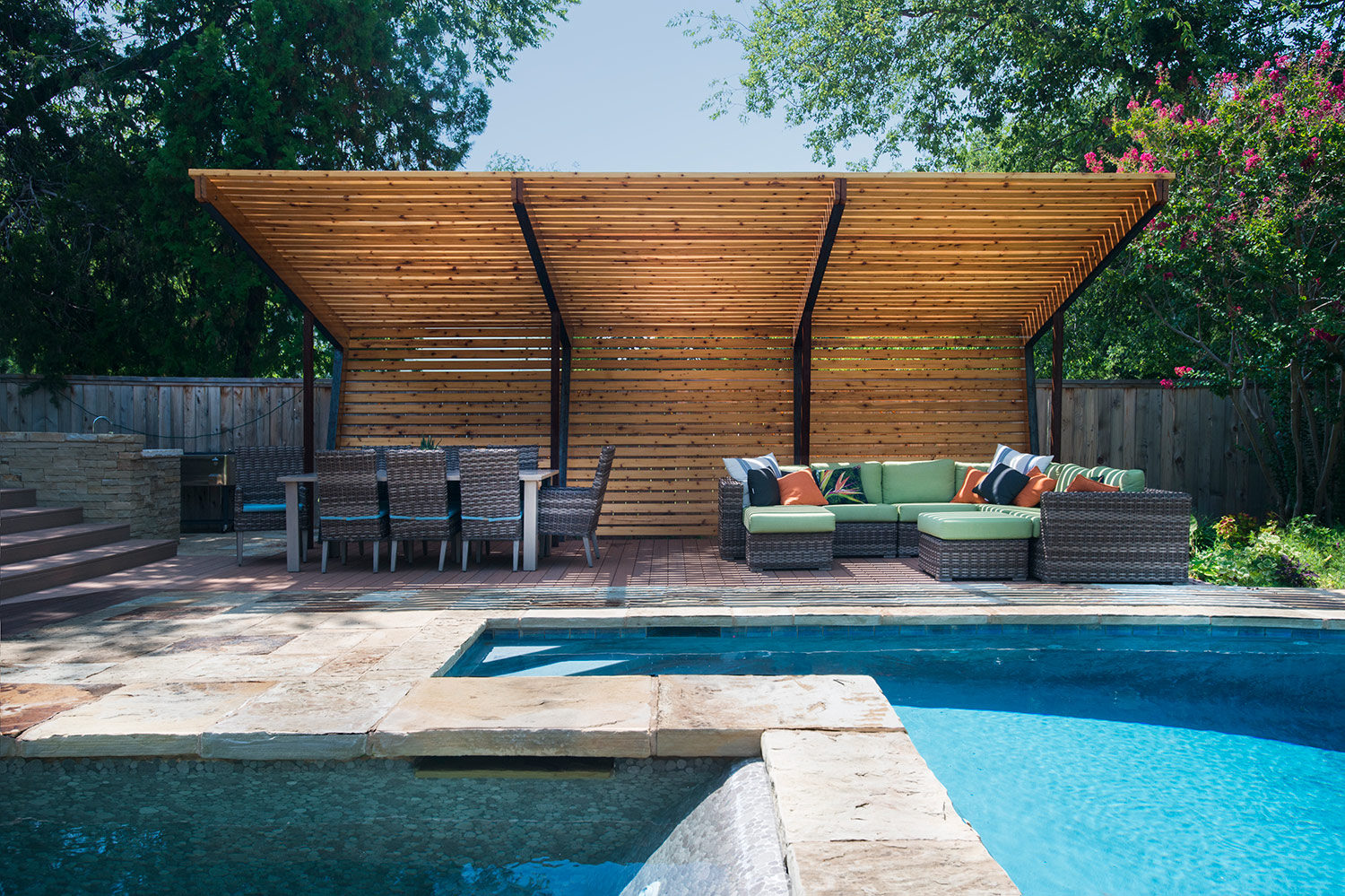 Oklahoma Sun Shade Architect Magazine Fitzsimmons