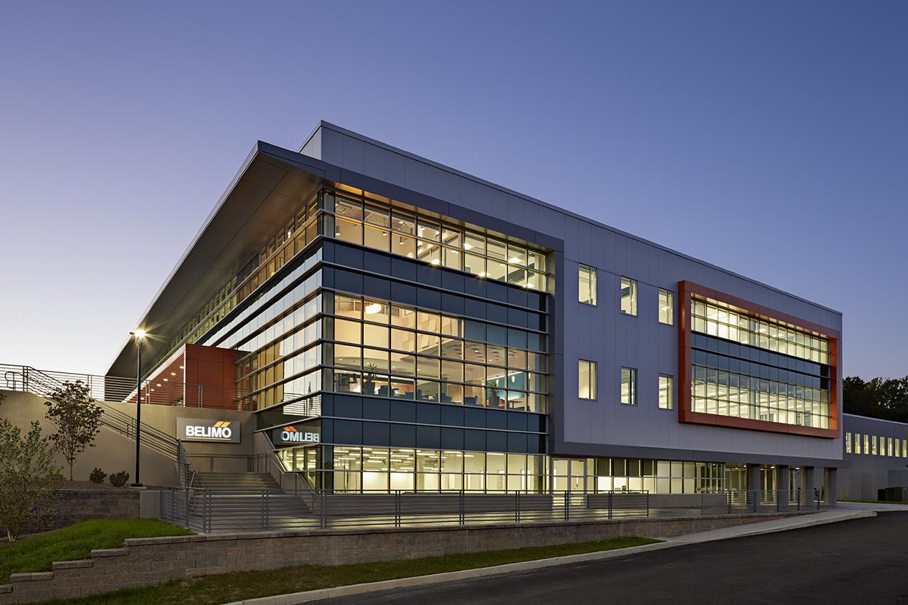 Belimo Americas North American Headquarters Architect Magazine The S L A M Collaborative