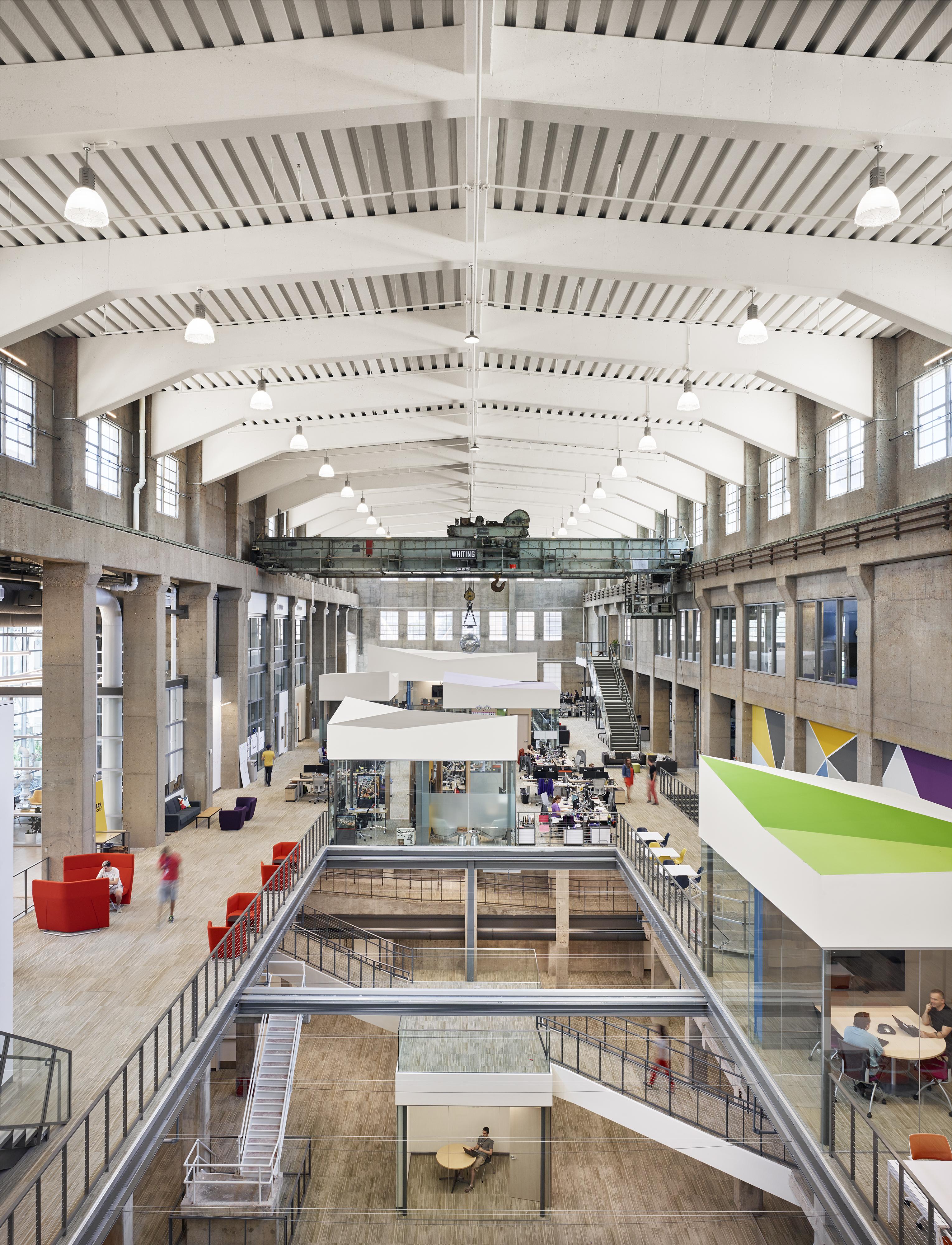 Seaholm power plant offices architect magazine - Interior design firms austin tx ...