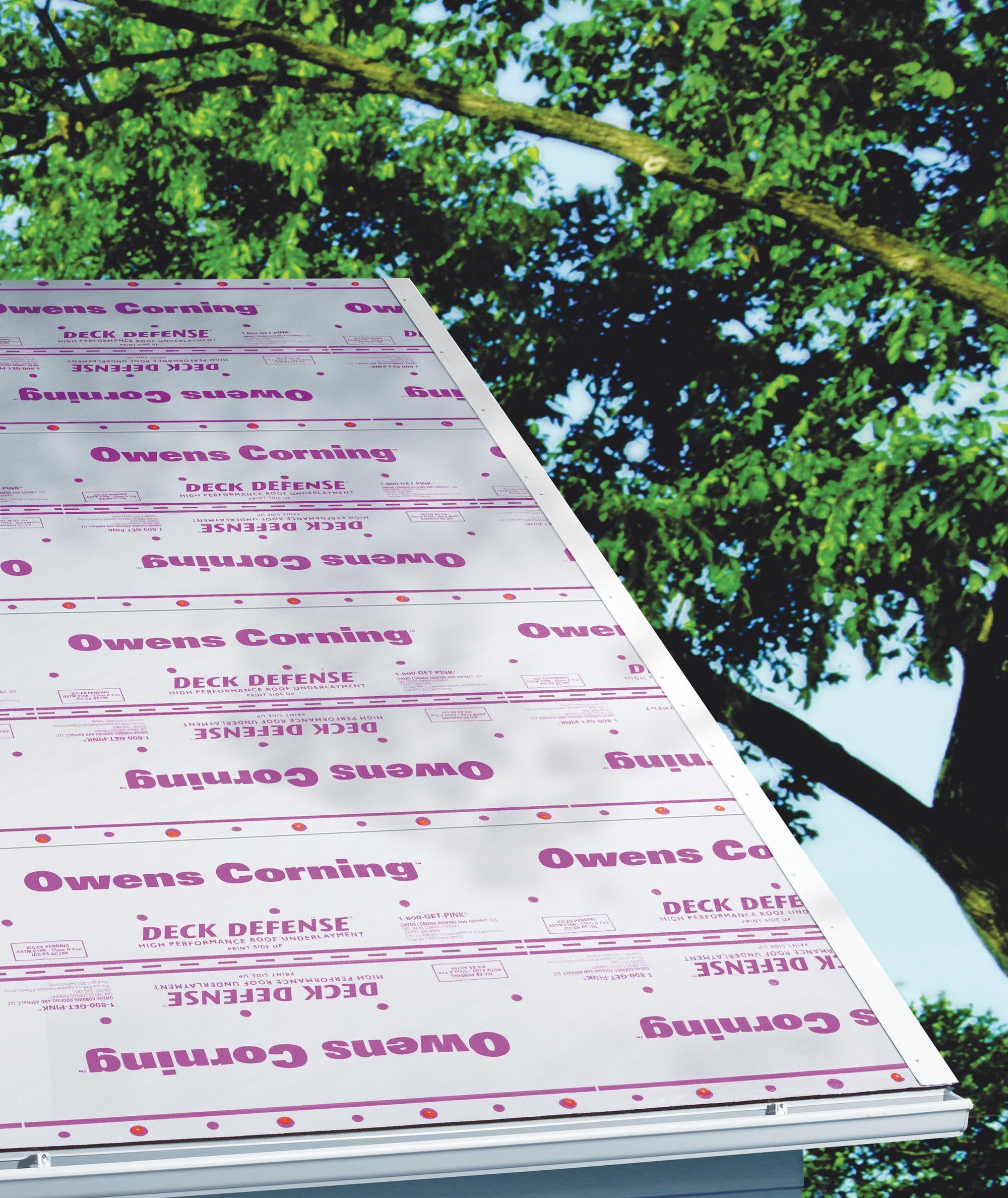 Owens Corning Deck Defense High Performance Roof