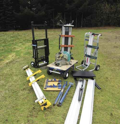 Miter Saw Stands Professional Deck Builder Saws Tools
