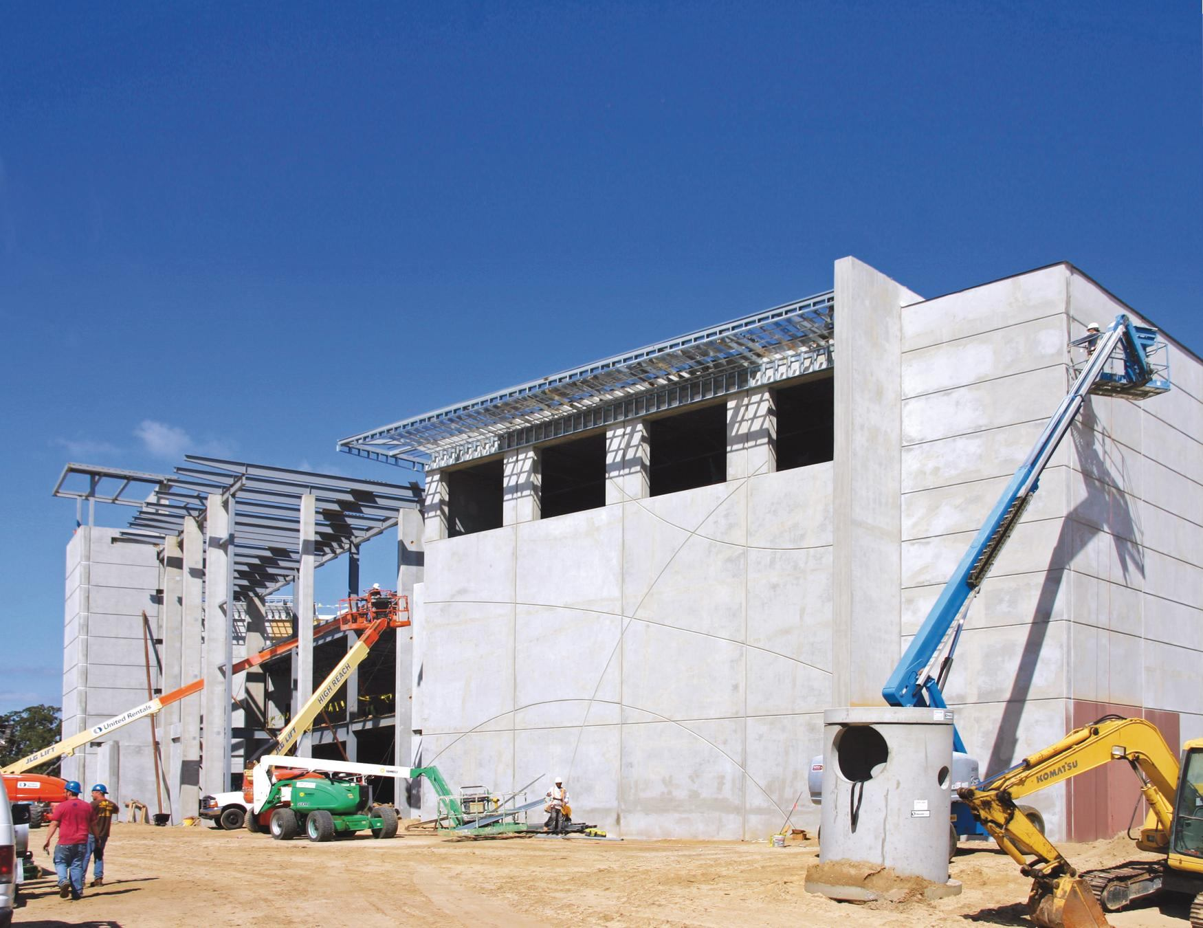 Constructing Sports Arenas With Tilt Up Concrete