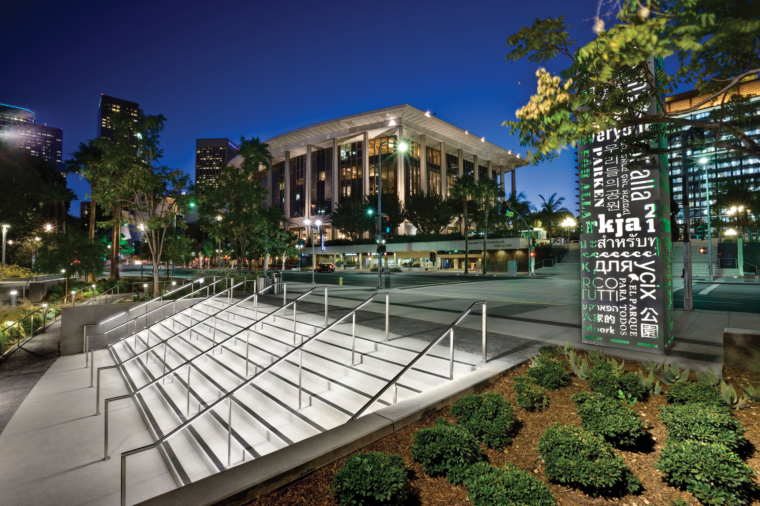 Grand Park In Downtown Los Angeles Architect Magazine