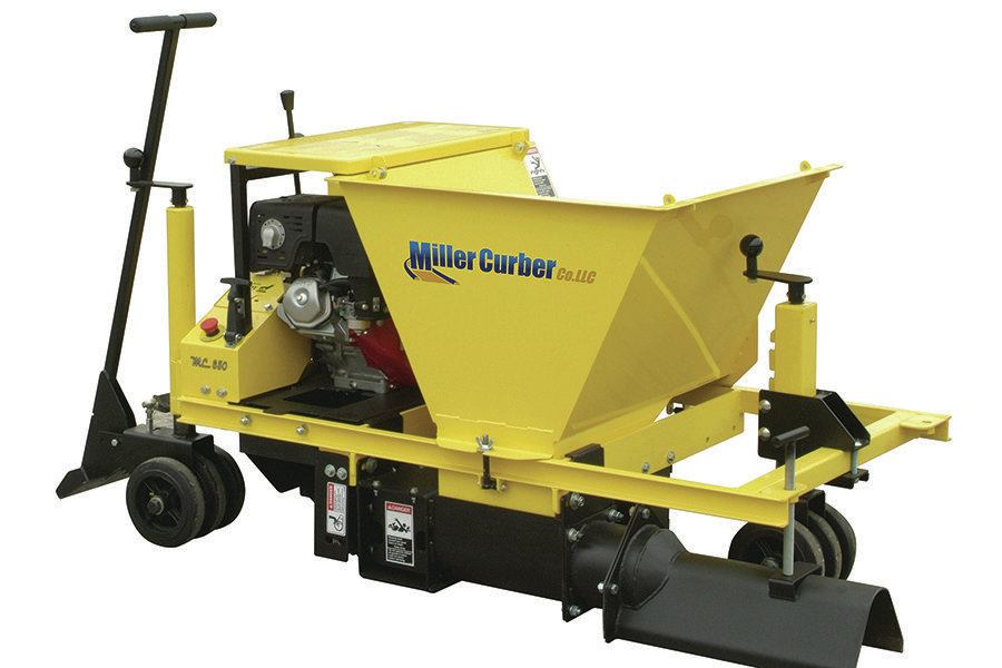 Curb And Gutter Machine By The Miller Curber Co Concrete