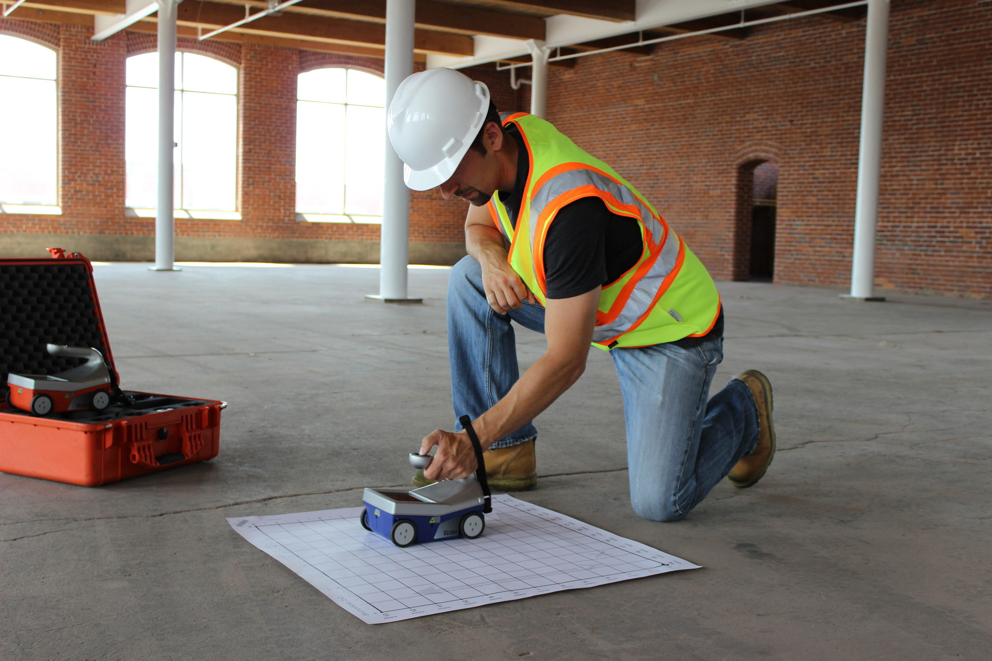 Using ground-penetrating radar with concrete| Concrete