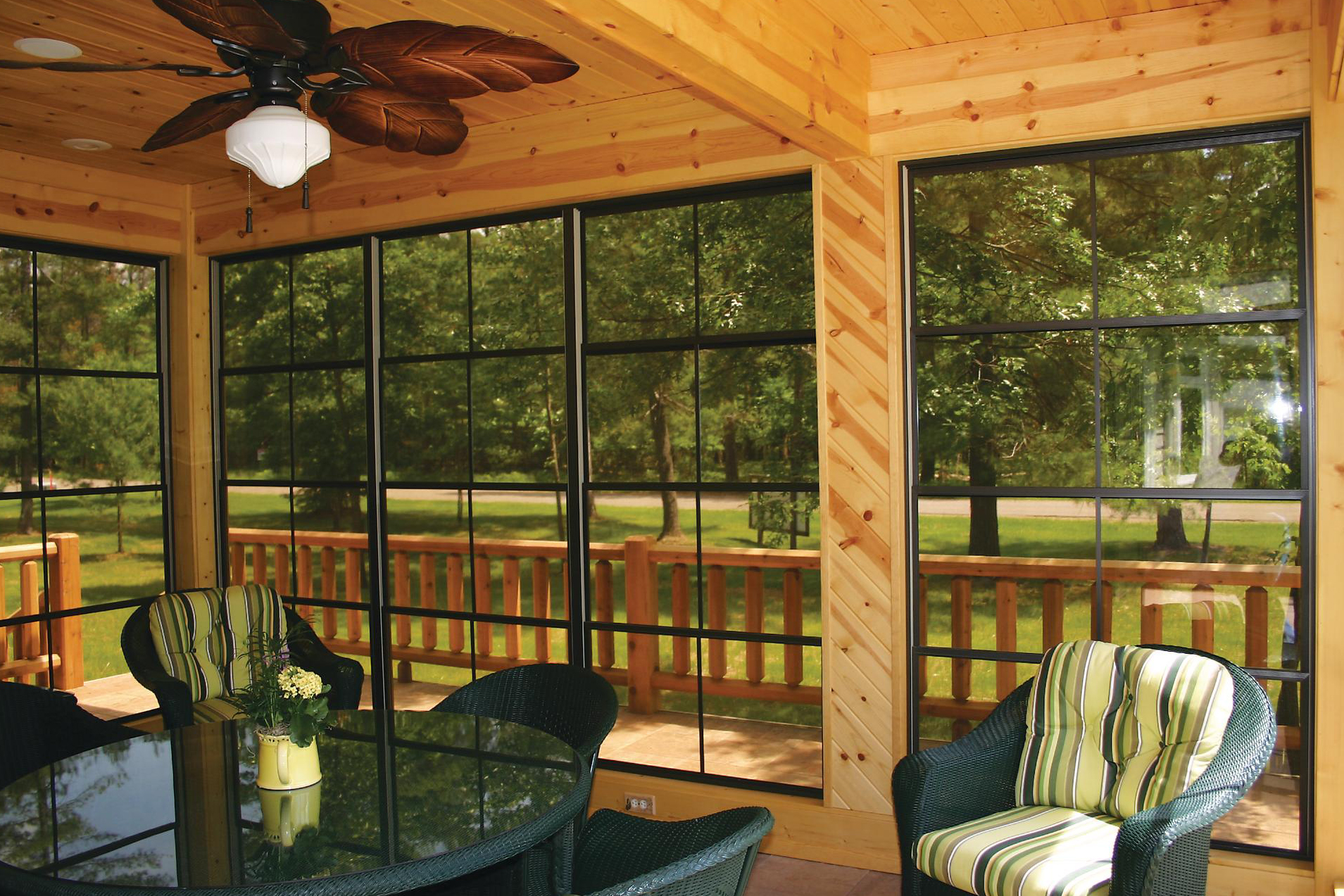 Making Room Sunspace Offers Sunroom Variety And