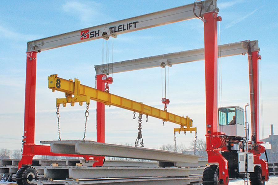 Shuttlelift Db70 Double Beam Mobile Gantry Crane Concrete