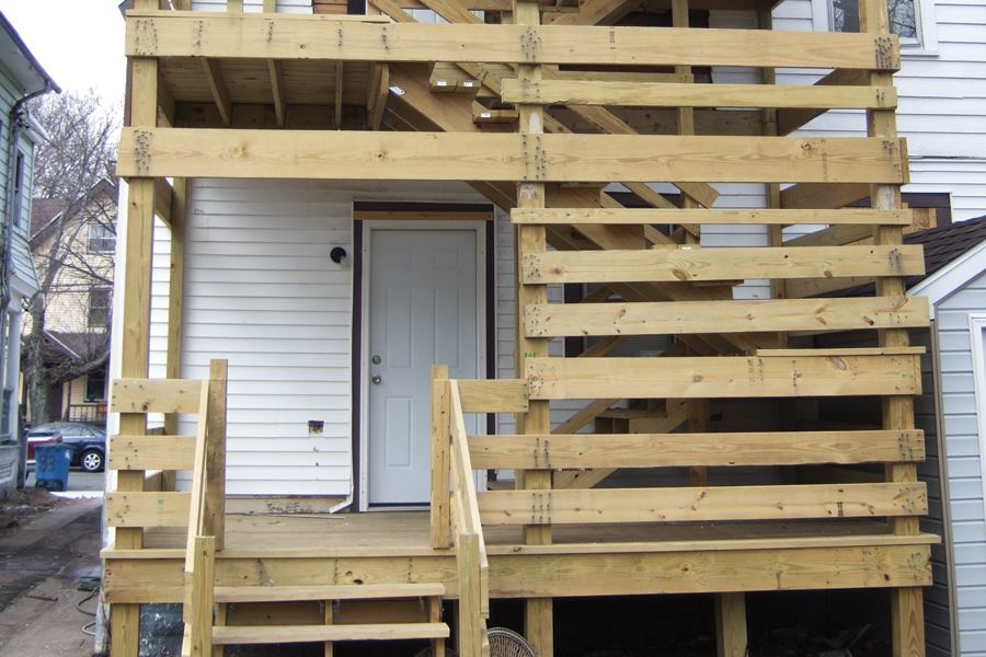 A Deck Built To Fail Jlc Online Decks Building Codes
