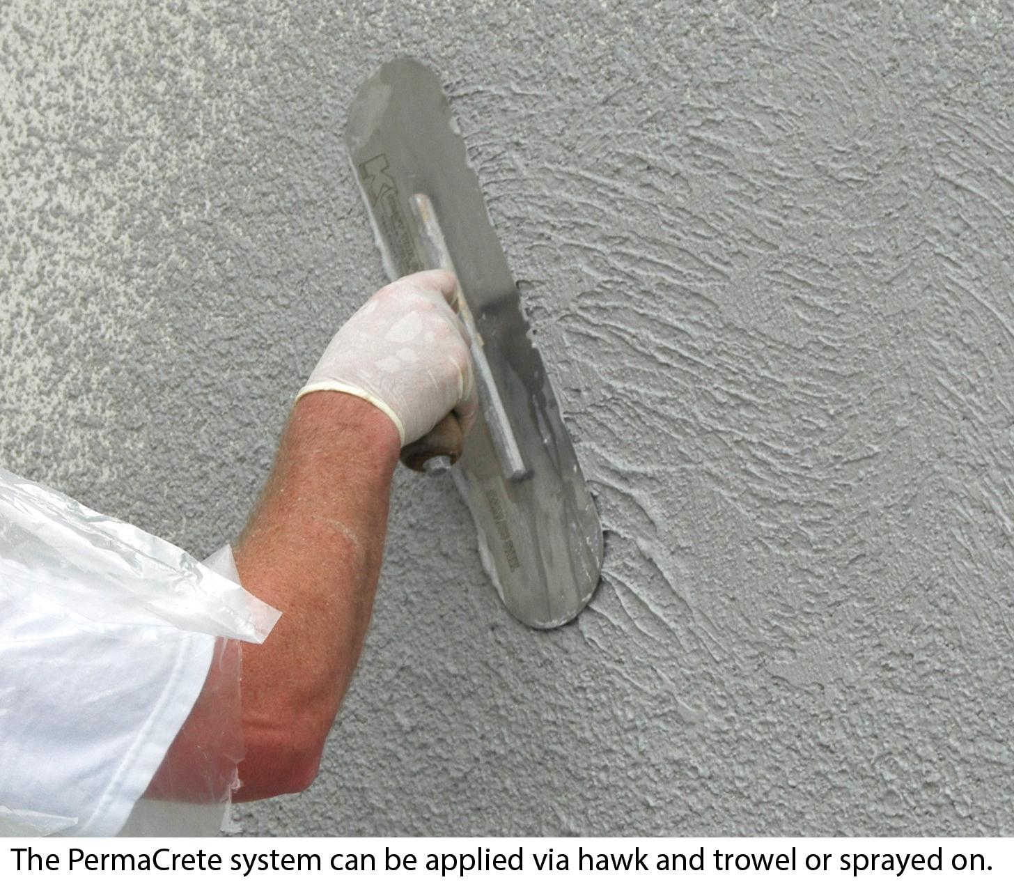 Permacrete Vertical Coating System Concrete Construction