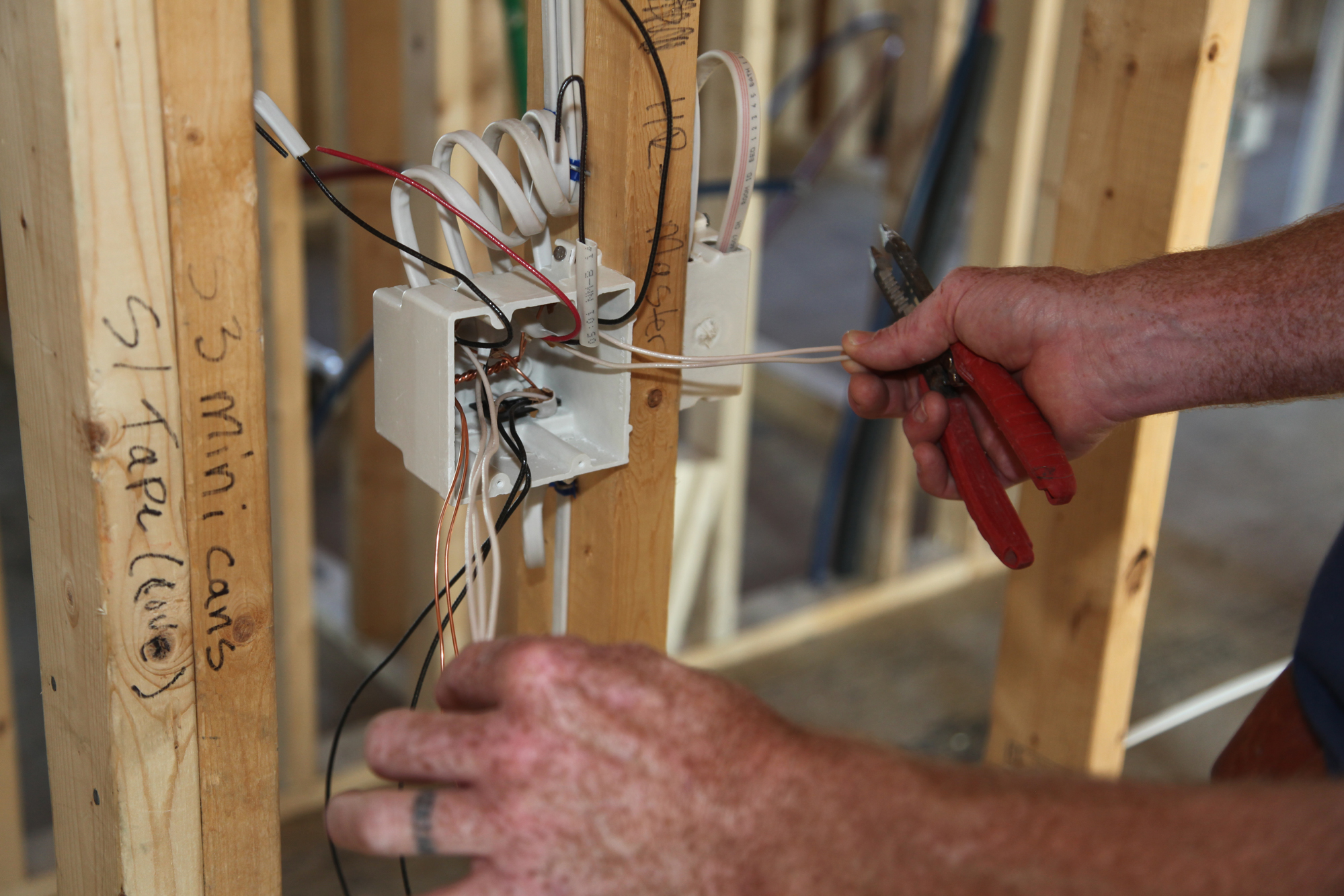 Rough-In Wiring | JLC Online | Wiring and Cable, Electrical ...