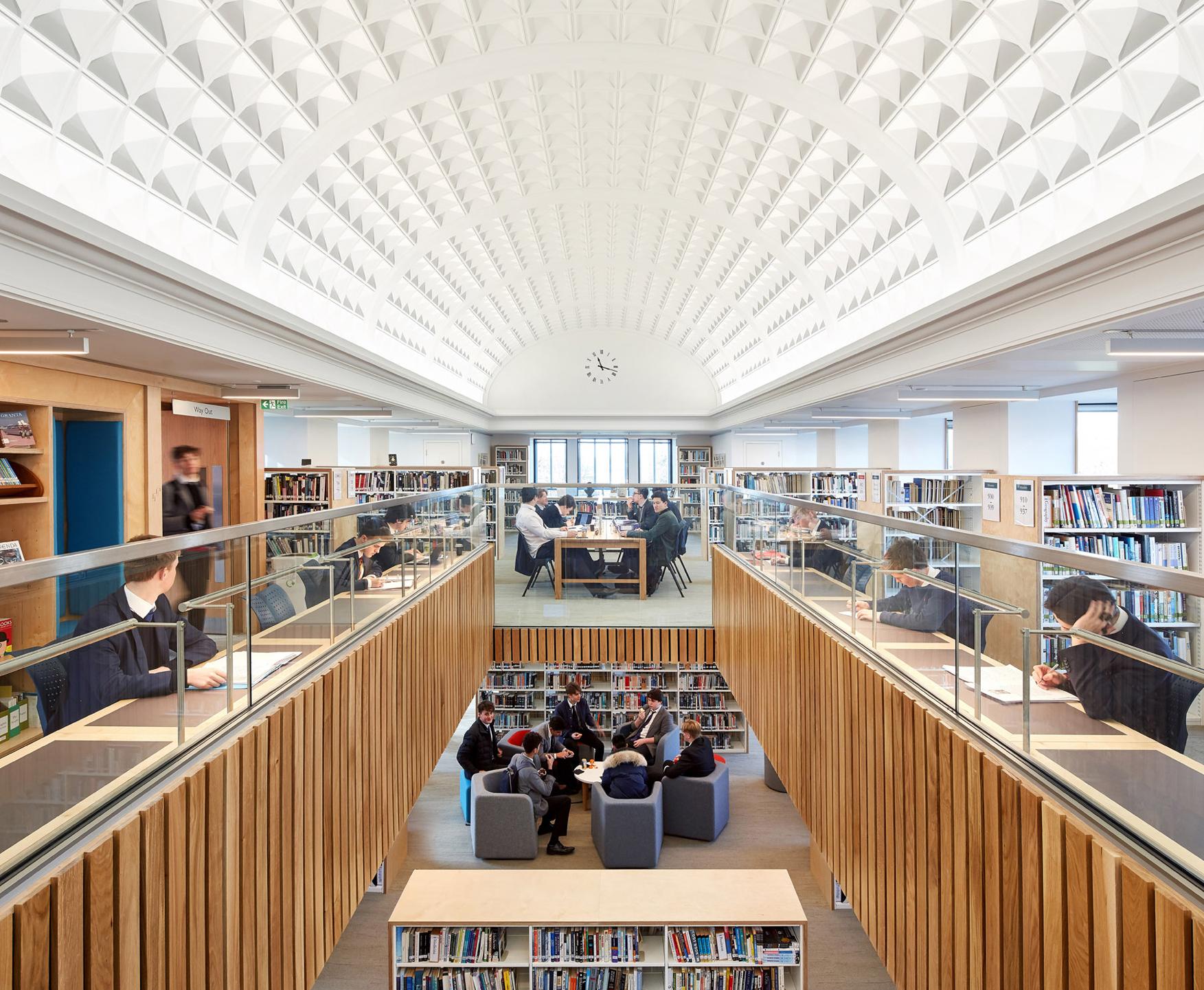 Smythe Library Renovation Tonbridge School Kent England