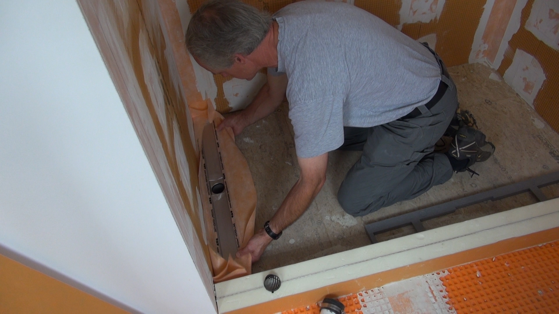 A Sloped Tile Shower Pan With A Linear Drain Jlc Online