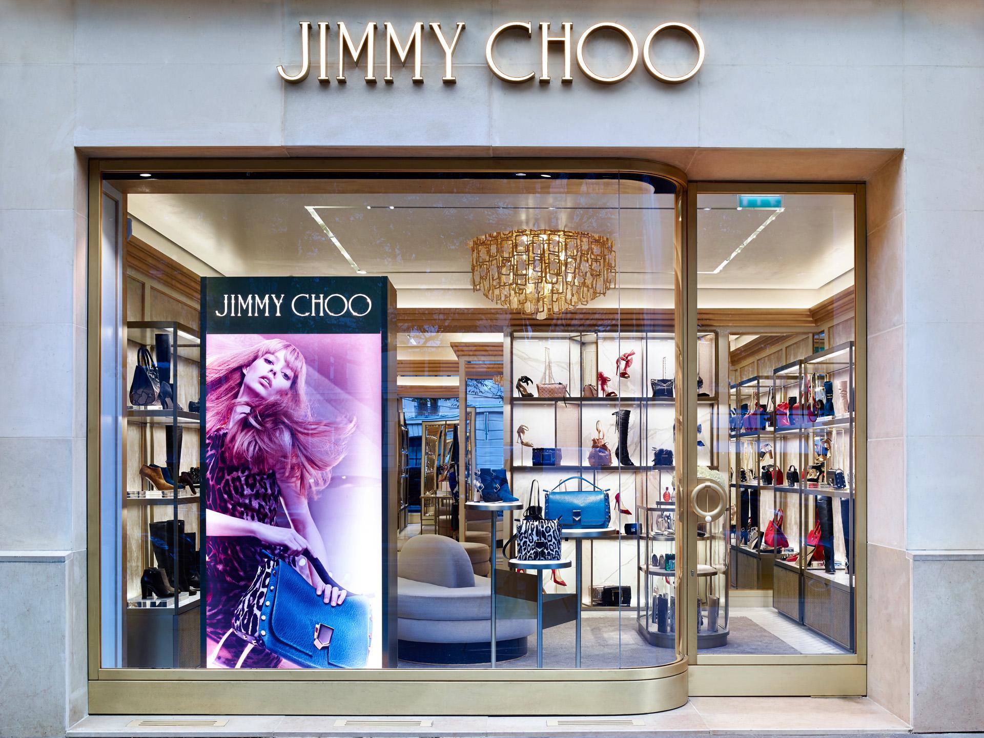daf8f74c8ab Jimmy Choo Paris Avenue Montaigne